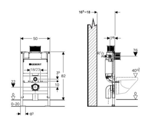 Geberit-224.175.00.1-Kappa-concealed-cistern-full-frame-Specs