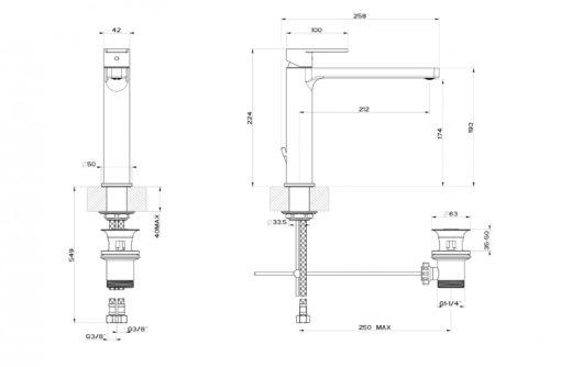 GESSI-47103-Basin-Mixer-Specs