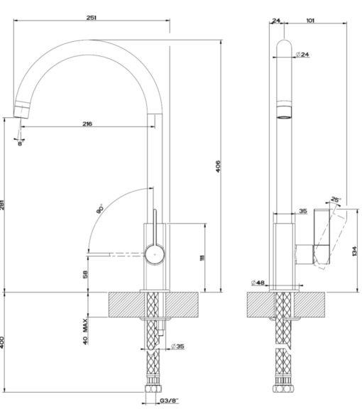 Gessi-17159-Kitchen-Sink-Mixer-Specs