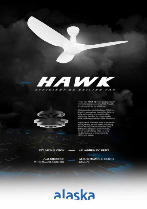 Alaska Hawk V Ceiling Fan Brochure