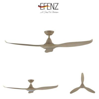 EFENZ Tiffany Maple Wood Ceiling Fan