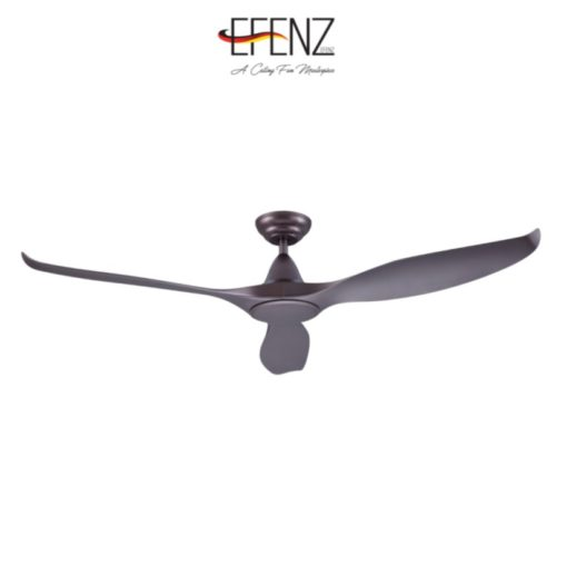 EFENZ Tiffany Midnight Titanium Ceiling Fan WITHOUT LIGHT
