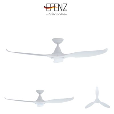 EFENZ Tiffany White Ceiling Fan