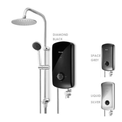 RINNAI ORE Series instant water heater with rain shower