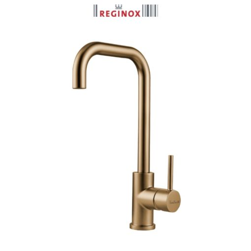 Reginox-Crystal-Gold-Sink-Mixer