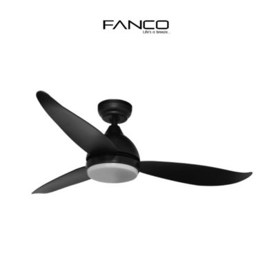 Fanco B Star Ceiling Fan  inch Black