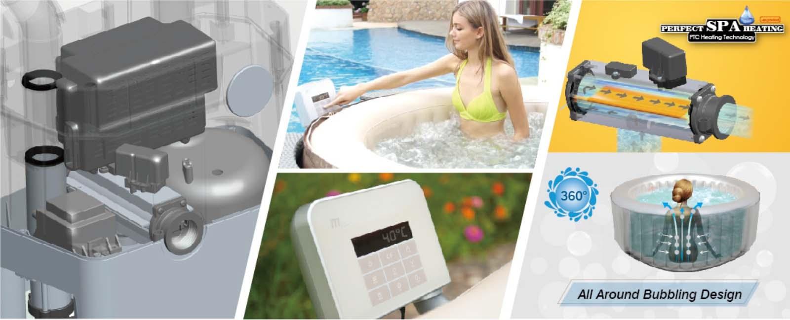 mspa bathtub heater