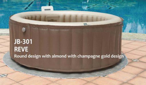 mspa jb  reve round design bathtub in singapore