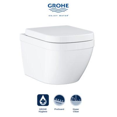 GROHE  Eurosmart Wall Hung Toilet