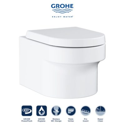 GROHE  Eurocosmo Wall Hung Toilet