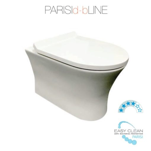 Parisi Slim PN Wall Hung Toilet