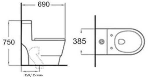 Minerva-WC10003-One-Piece-Water-Closet-Specs