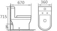 Minerva-WC10010-One-Piece-Water-Closet-Specs