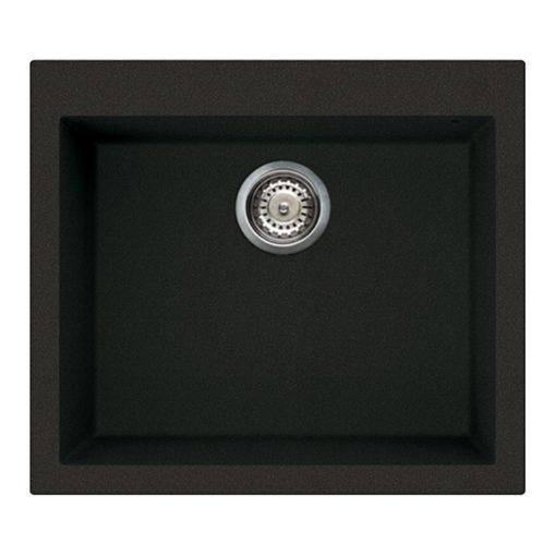 Rubine-MEQ810-57-Granite-Sink-Pearl-Black