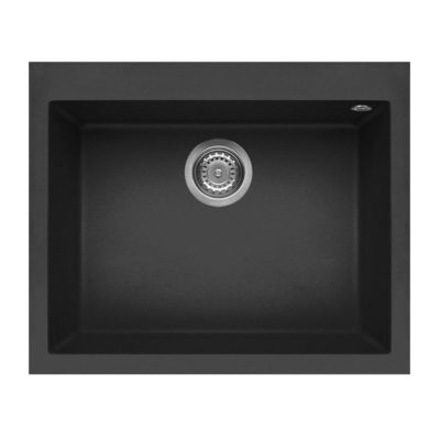 Rubine-MEQ810-61-Granite-Sink-Pearl-Black