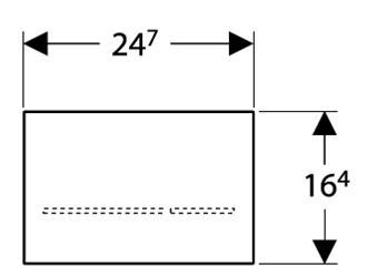 Geberit-Sigma-80-Flush-Actuator-Specs