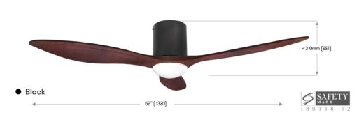Alaska Bay Ceiling Fan  Inch WL Specs