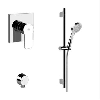 Gessi Corso Venezia Concealed Shower Mixer Bundle