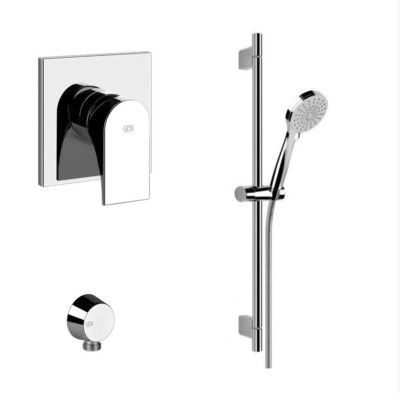 Gessi Via Solferino Concealed Shower Mixer Bundle