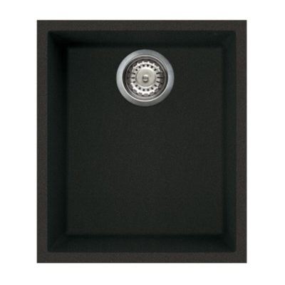 Rubine-MEQ810-38U-Undermount-Granite-Sink-Pearl-Black