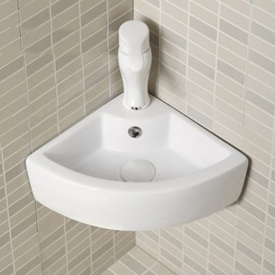 AA Wall Mounted Corner Basin