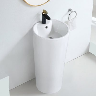 BC LKW DB Free Standing Ceramic Basin