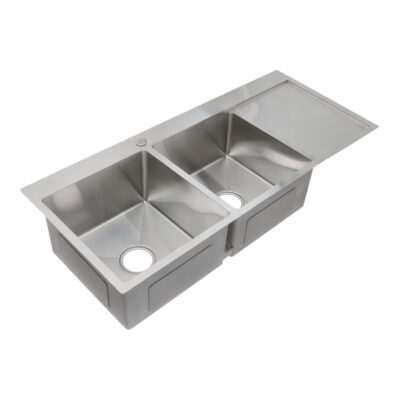 SS11650-2B1D-Stainless-Steel-Sink-Angled-View
